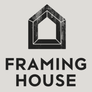 Framing house logo