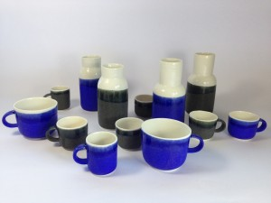 Black and Blue glaze